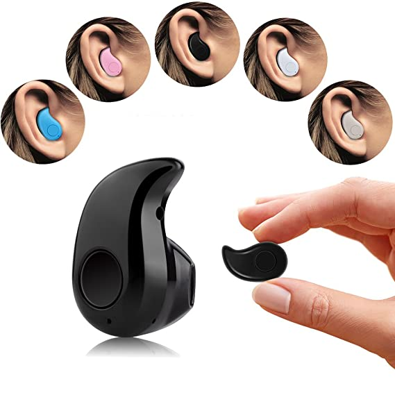 cb937ab503c [for Right Ear] SoulBay Mini Ultra Small Wireless Invisible Headphone  Headset Earbud with Mic