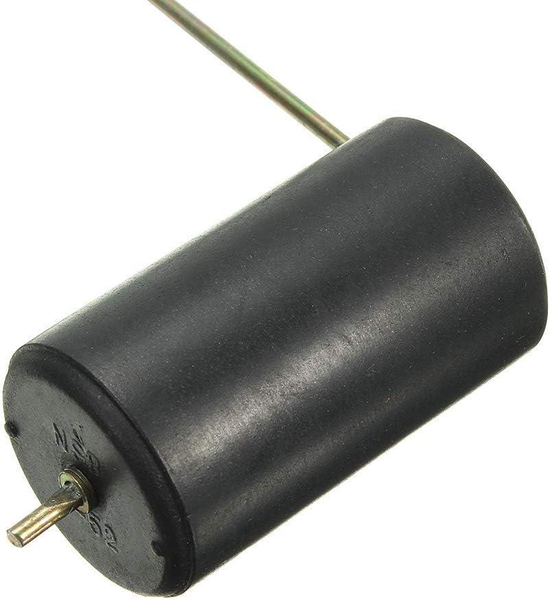 heacker 2-Zoll-Universal-52mm Kraftstoffstand Pegelmesser Tankanzeige Meter Kraftstoff-Sensor E-1//2-F-Zeiger-Auto-LKW-Boot High Sensitivity