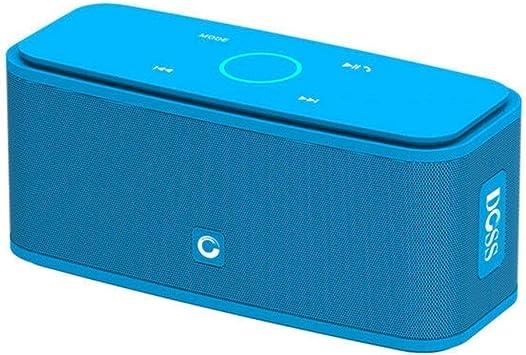 IN THE DISTANCE Caja De Sonido Estéreo con Altavoces Y Altavoces Inalámbricos con Control Táctil 2 * 6W con Micrófono Incorporado Y Micrófono Incorporado (Color : Blue): Amazon.es: Electrónica