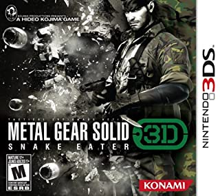 Metal Gear Solid Snake Eater 3D (B002I0EMUO) | Amazon price tracker / tracking, Amazon price history charts, Amazon price watches, Amazon price drop alerts