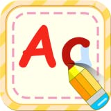 Preschool alphabet English writing - pre-kindergarten schooling