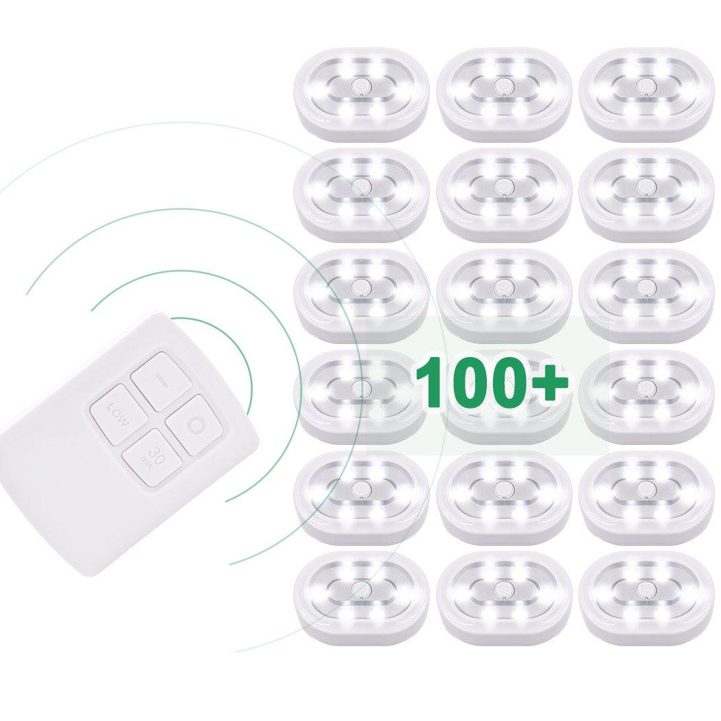 Une Lampe Blanc Froid Couleur Eclairage Batteries Incluses de Enuotek Telecommande Non Incluse Travailler avec EN-M002-01