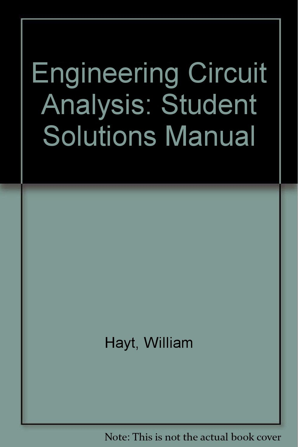 Buy Engineering Circuit Analysis: Student Solutions Manual Book Online at  Low Prices in India   Engineering Circuit Analysis: Student Solutions Manual  ...