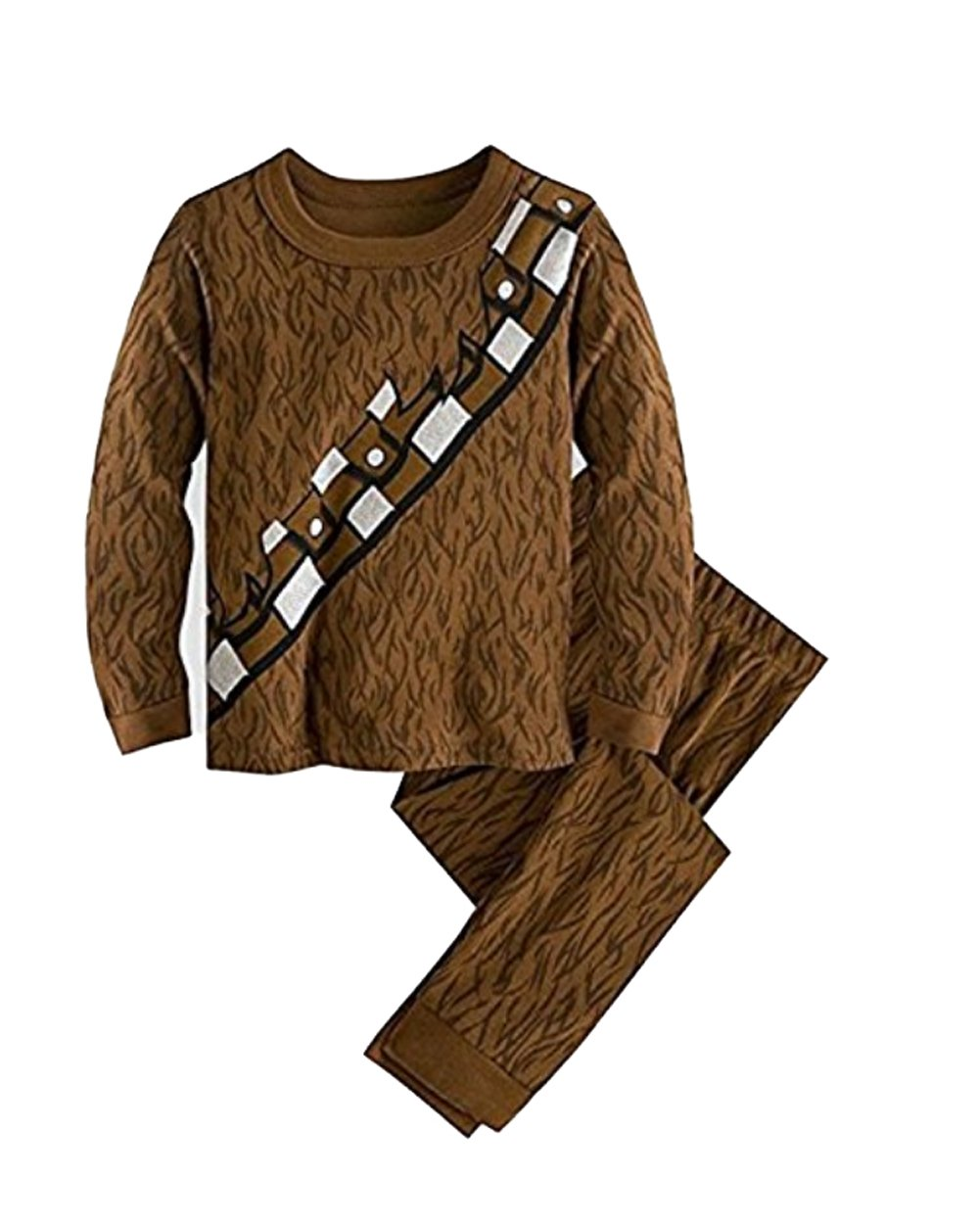 Disney Store Deluxe Chewbacca Chewie Pajama PJ Star Wars Small 6 by Disney (Image #1)