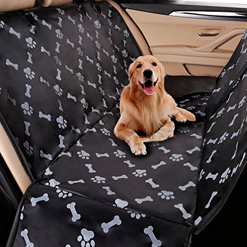 NILE Car Protector for Dogs, Pets Non-Slip Durable Seat Covers Backseat Protection Against Dirt Fur, Dog Travel Hammock Convertible for Cars, Trucks Review
