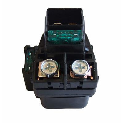 shamofeng Starter Relay Solenoid For Suzuki LTA LTF 400 500 Eiger 400 Vinson 500 2002-2007 Replace SUZUKI 31800-03G00: Automotive