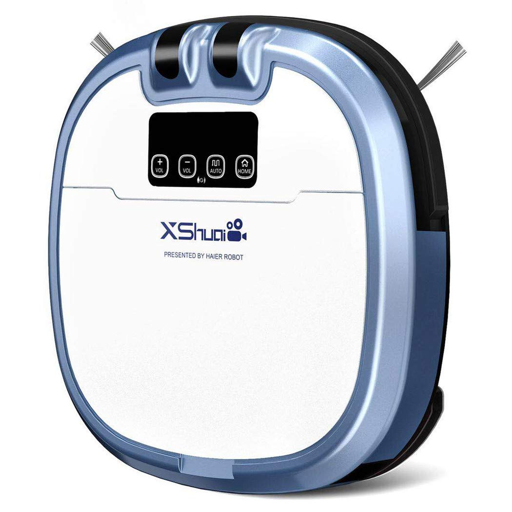 Xshuai C3 EU Version - Robot aspirador, color azul: Amazon.es: Hogar