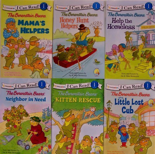 I Can Read Berenstain Bears Collection - 6 Book Set (Mana