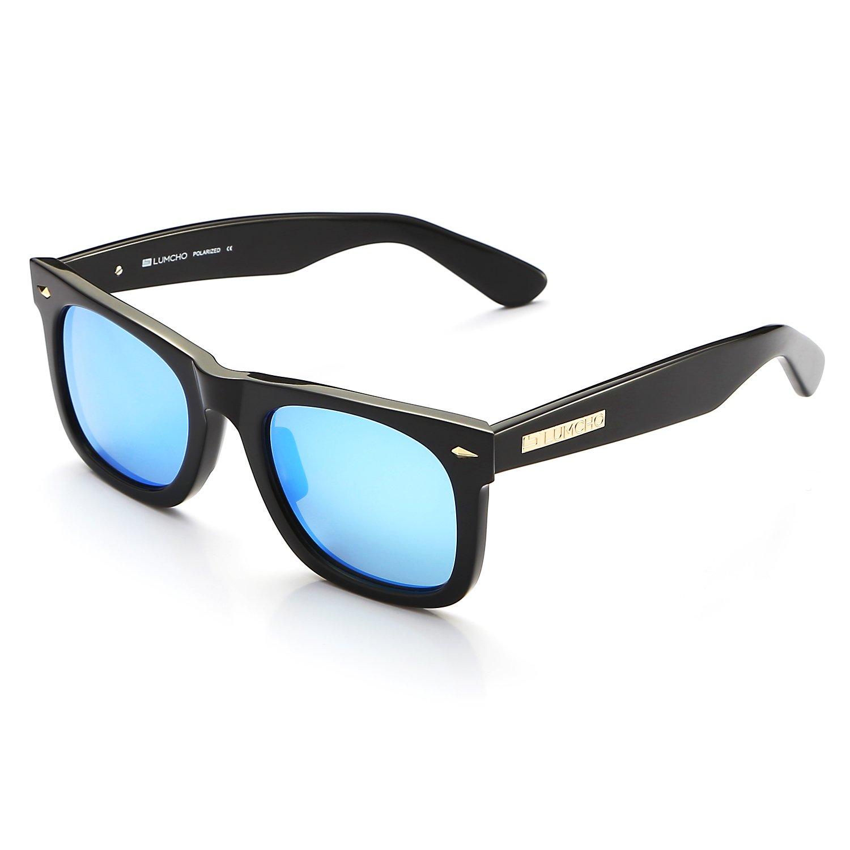 Amazon.com: Wayfarer anteojos de sol polarizadas por lumcho ...