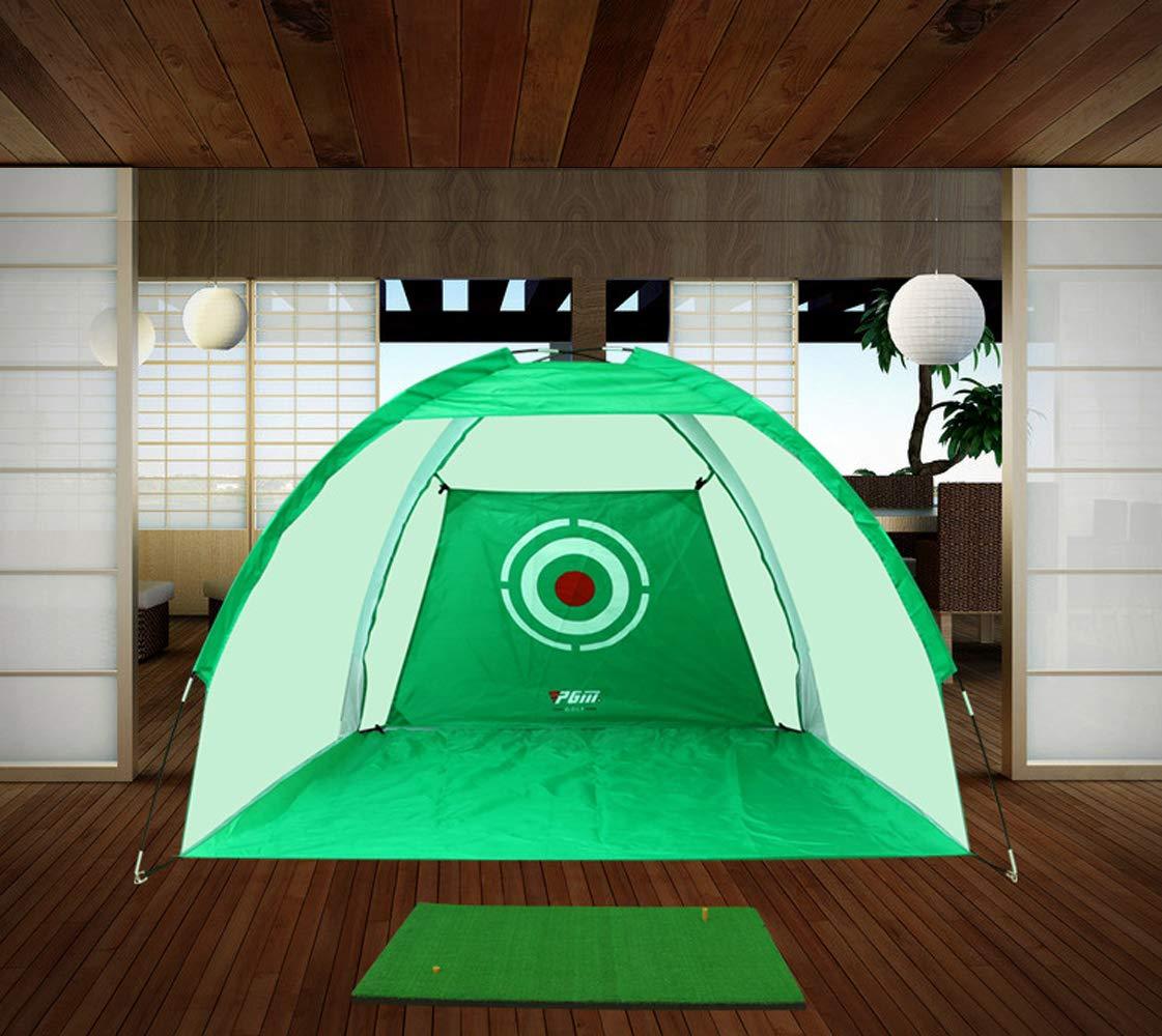 kofullゴルフケージゴルフ練習用マット屋内ゴルフ用チッピングネットトレーニング用具(300 * 200cm(グリーン)) B07BQPPBYK