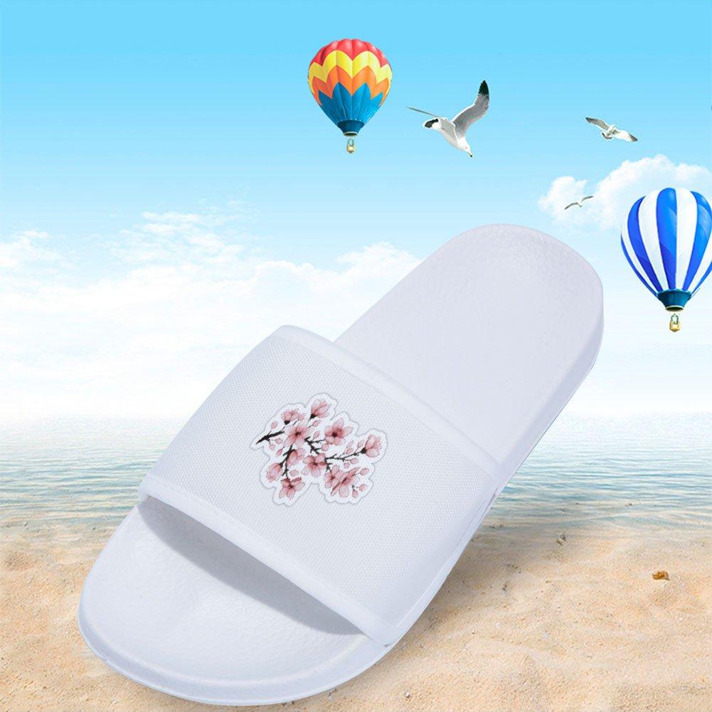 Home Slippers Wilbur Gold Boys Girls Indoor Floor Slipper Flower Stylish Beach Sandals Open-toe Slipper