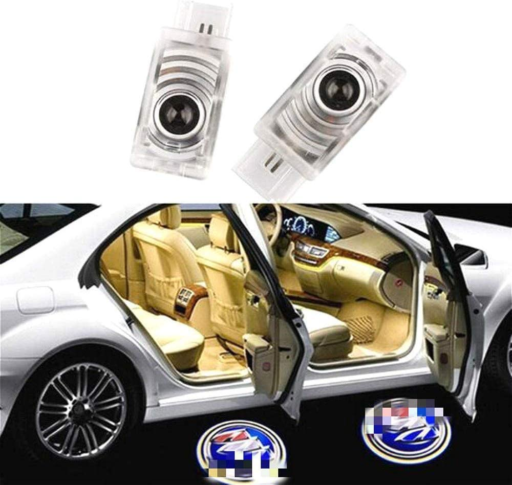 For Mark X Reiz Moderncar 2ps Car door led Logo lamp Projector Ghost Shadow laser Welcome Lights-Easy to install no rewiring. No drilling