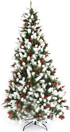 Premium Blanc Traditionnel Indoor artificielle de Noël Arbre de Noel 4,5,6,7,8FT