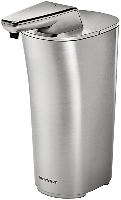 simplehuman ST1036 0.222L Níquel - Dispensador de jabón (69 mm, 130 mm,