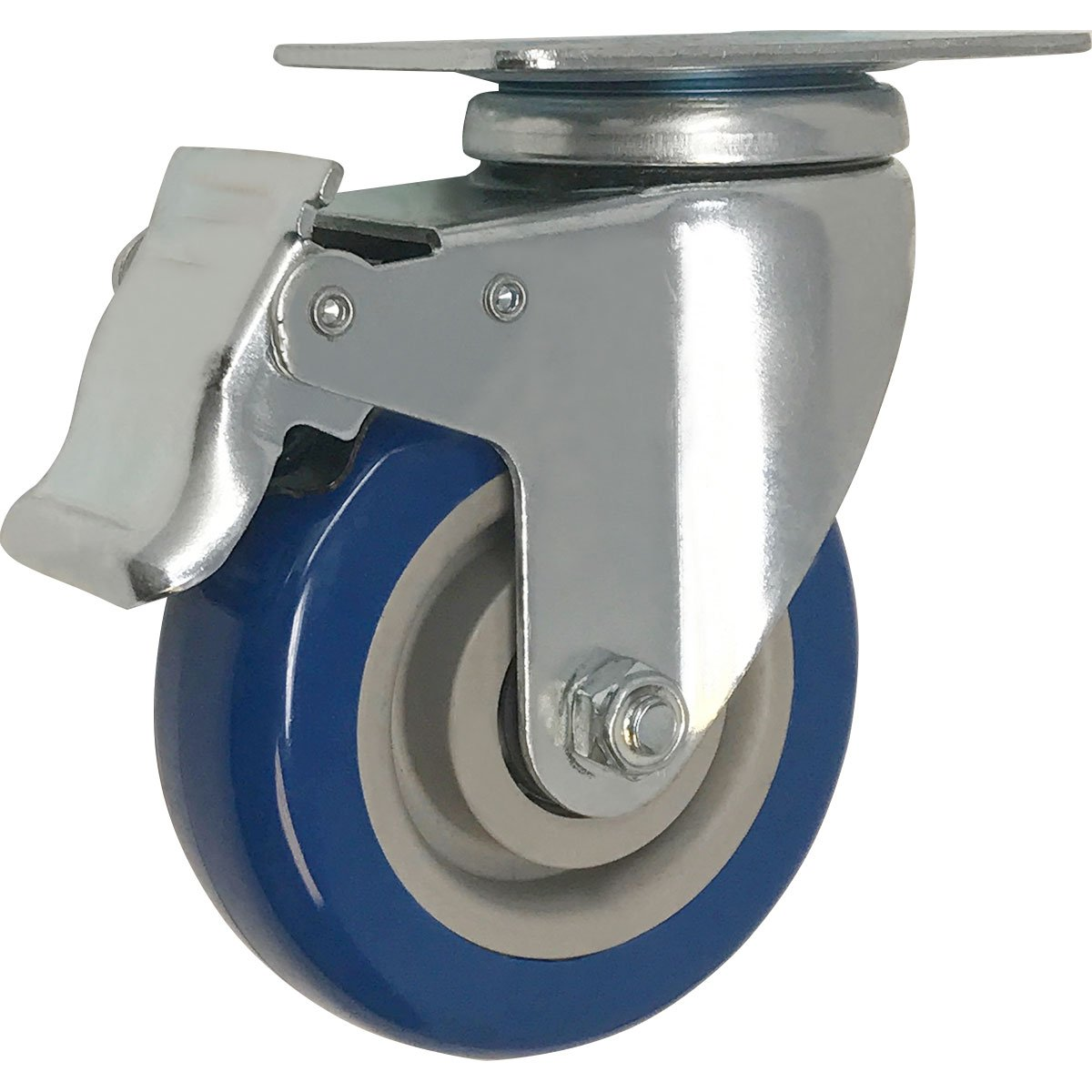 "3"" lockable swivel caster"