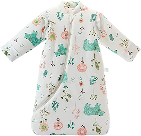 L/24-48 Months, Animal World Baby Winter Sleeping Bag Kids Sleeping Bag 3.5 Tog Organic Cotton Sleeping Bag Various Sizes from Birth to 4 Years Old Baby Products