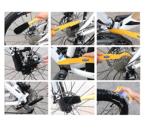 Acekit CYLION Bicycle Specialized Cleaner Kits Bike Cleaning Tool Package For MTB Road Bike Tire Chain Brake Disc Wheel Sprocket Fork Cushion
