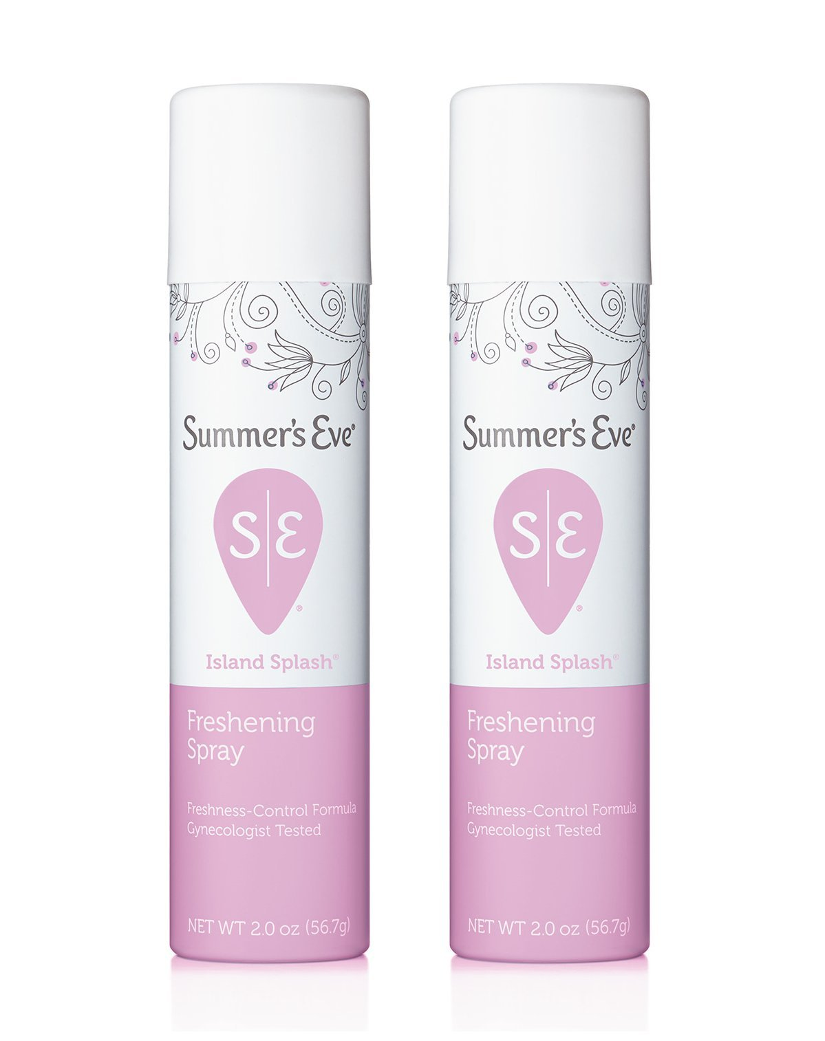 Summers Eve Freshening Spray 2 Ounce Island Splash (59ml) (2 Pack)