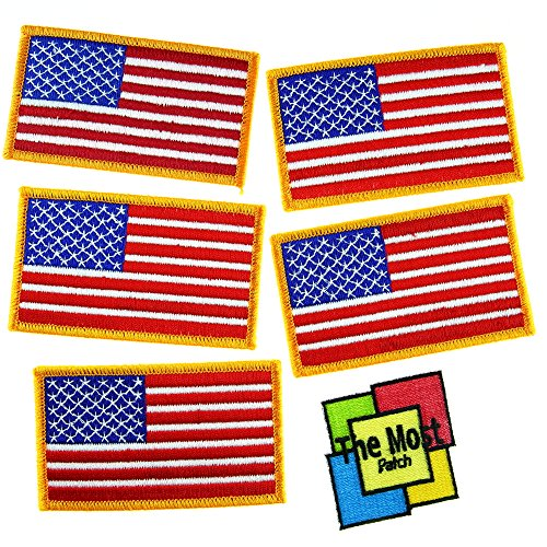lot-of-6-5-1-usa-flag-american-army-military-country-sign-embroidered-iron-sew-on-patch-variations-g