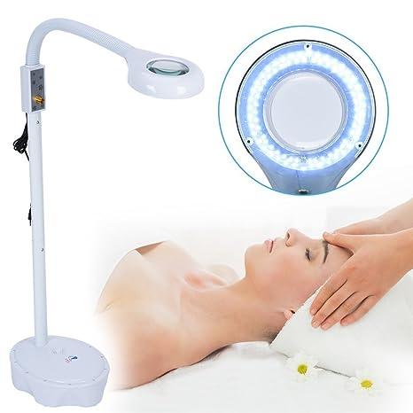 57e29ebe53961 Lámpara Lupa LED Estética de aumento 3X luz blanca con Soporte para Belleza  de Salón Tatuaje