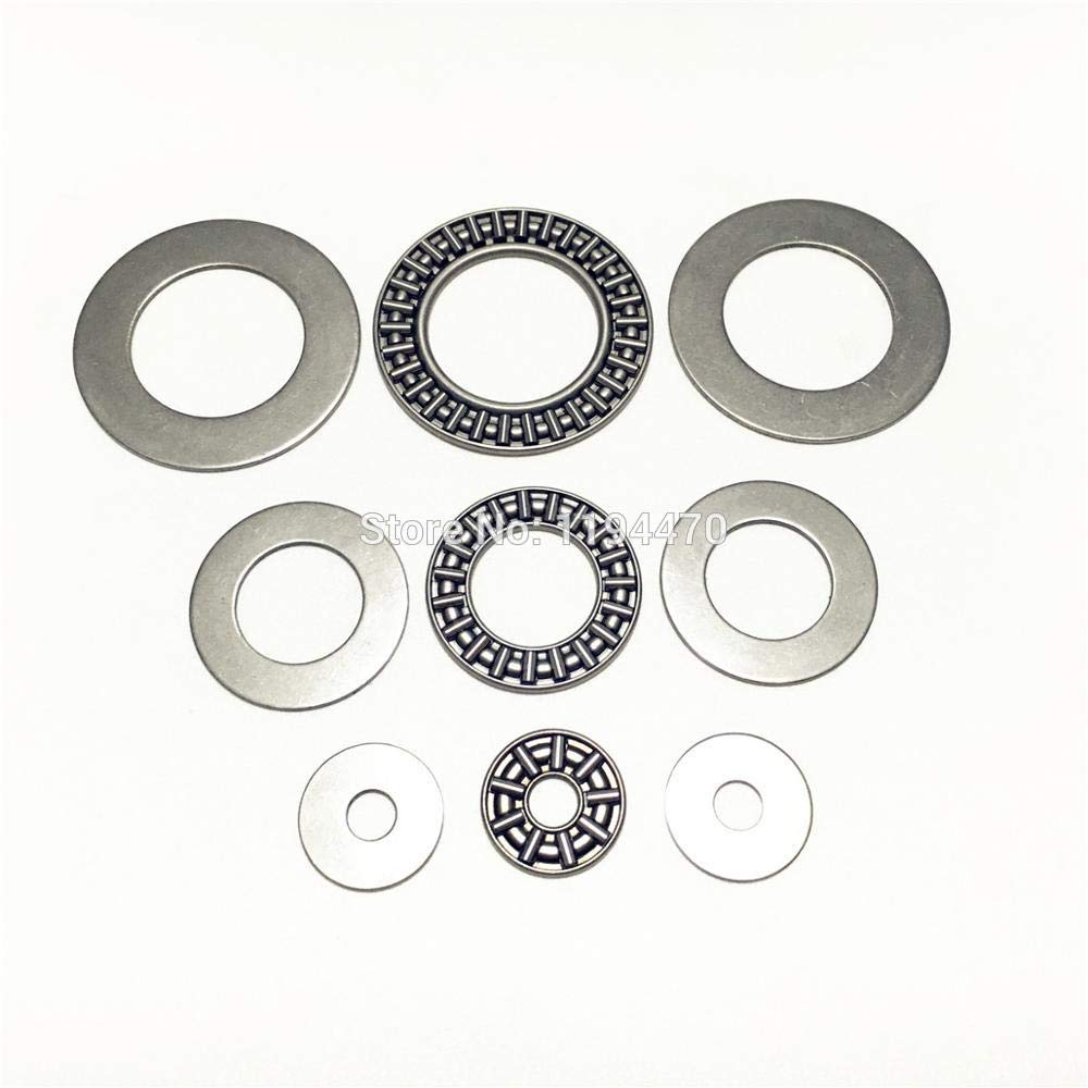 Washers NEW 1pcs AXK1730 17x30x2mm Thrust Needle Roller Bearing