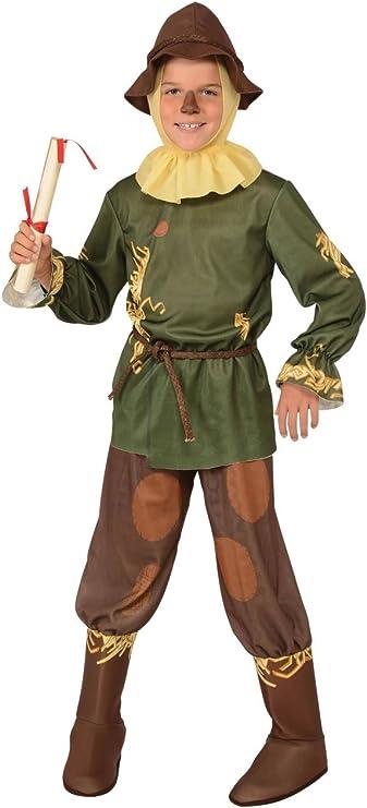 Rubies s oficial de el mago de Oz Espantapájaros niño grande L ...