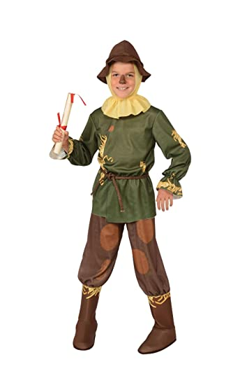 9e962058d2c91 オズの魔法使い かかし 衣装 キッズ 子供用 ハロウィン 衣装 コスチューム Mサイズ