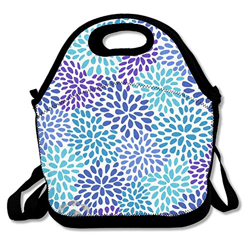 Tydo Lunch Bags Flower Burst Pattern Shoulder Bags Picnic Bags Snack Bags For Men Women Girls - For Leopard Male Sale Tortoise