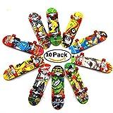 Lavendei Mini Finger Board Tech Deck Truck Skateboard Toy Best Gift for Kids Children