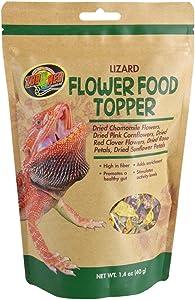 Zoo Med Lizard Flower Food Topper 1.4 oz - Pack of 2