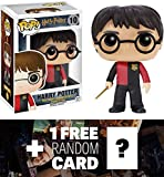 Harry Potter (Triwizard Tournament): Funko POP! x Harry Potter Vinyl Figure + 1 FREE Official Harry Potter Trading Card Bundle [65607]
