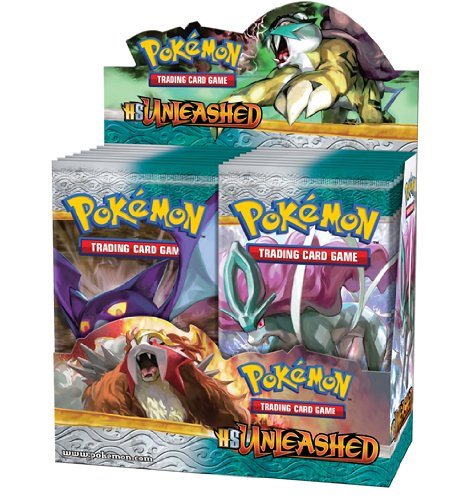 Pokemon Trading Card Game: HeartGold SoulSilver Unleashed Boosters (Display of 36) by Pokémon