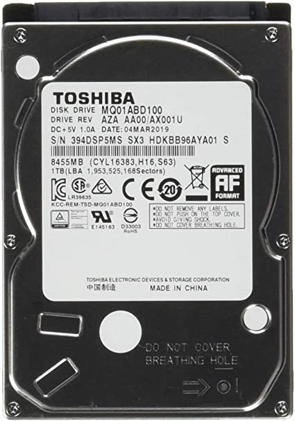 Toshiba MQ01ABD050 - Disco duro interno 2.5