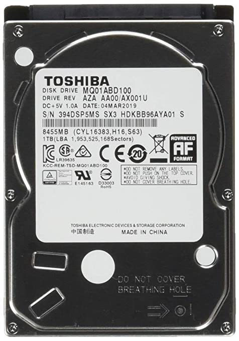 Toshiba MQ01ABD 1 TB 2 5