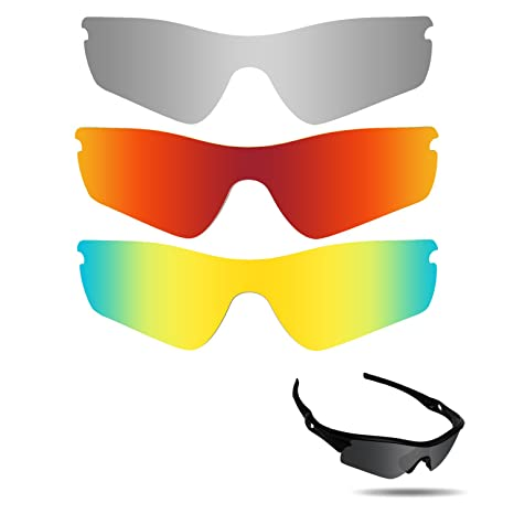 581629b7a3b Image Unavailable. Image not available for. Color  Fiskr Anti-Saltwater Polarized  Replacement Lenses for Oakley Radar Path Sunglasses ...