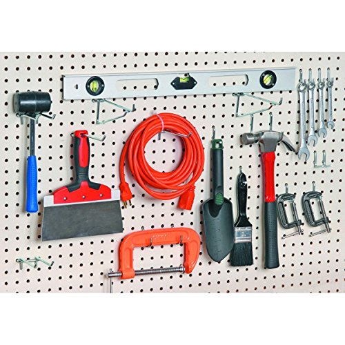 New (Set of 32) 1/4 In 0.25 in Variety Hooks Pegboard Hooks Mechanic Garage Shop Tool Organization Storage Systems