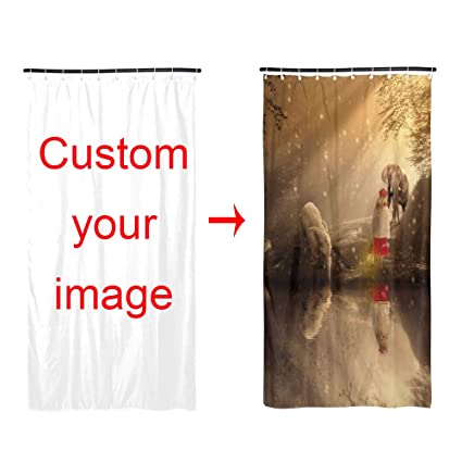 Image Unavailable Not Available For Color Custom Shower Curtains