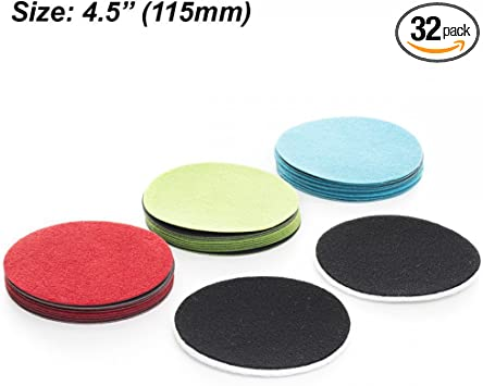 Ultra Coarse Grade Sanding Disc for Glass Scratch Removal 5 Inch Pack of 5