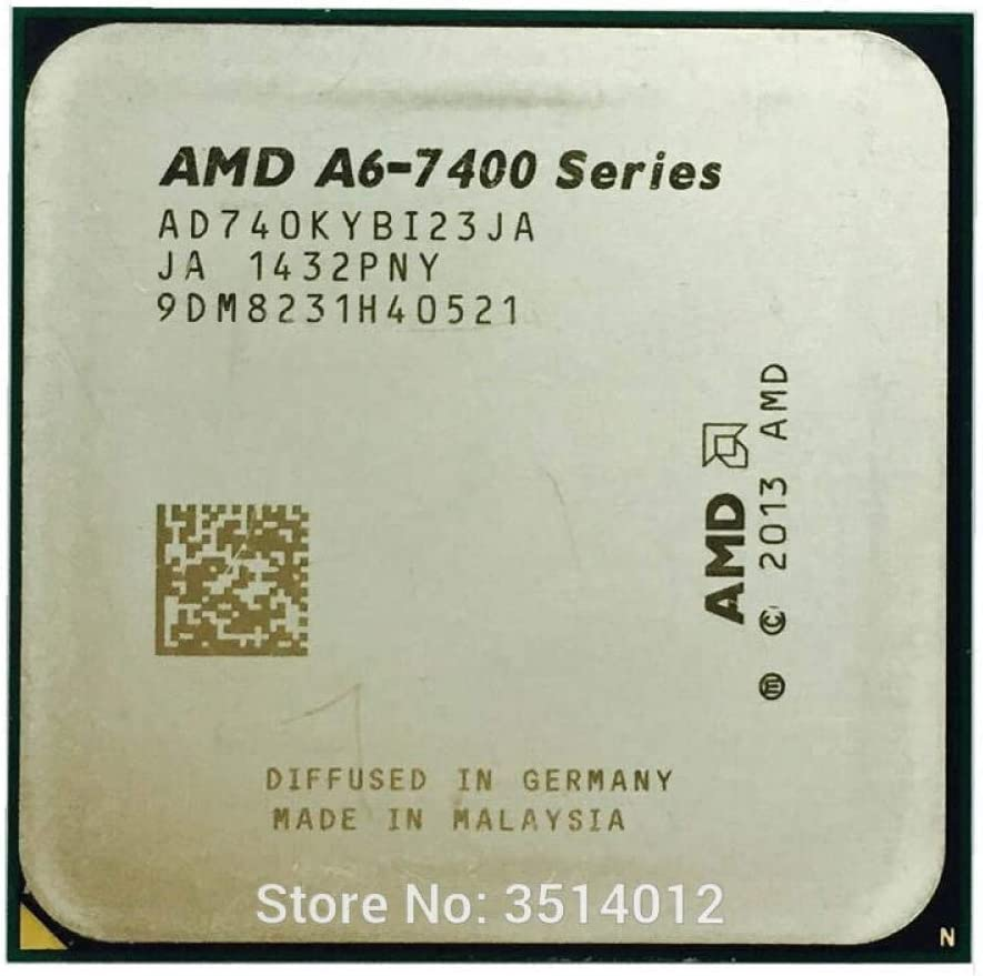 AMD A6-Series A6 7400 A6 7400K A6 7400B 3.5G Dual-Core CPU Processor 65W AD740KYBI23JA//AD740BYBI23JA Socket FM2+