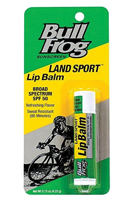 Bull Frog Land Sport Lip Balm SPF 50 0.15 oz Rejuvenating Face Oil Sage & Lavender - 1 fl. oz. by DERMA-E (pack of 3)