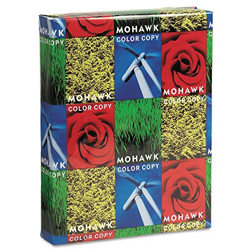 250 Sheet Pack (Mohawk Color Copy 98 Cover, 80 lbs., 8-1/2 x 11, Bright White, 250 Sheets/Pack)