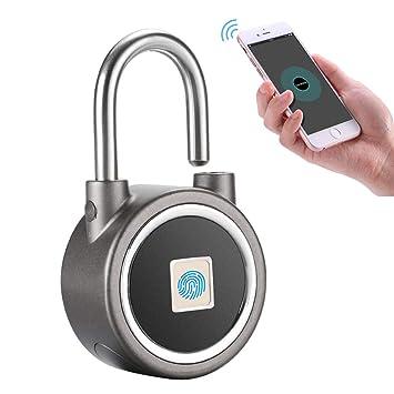 :NEU Reise Kofferschloss Taschenschloss Hight Tech Fingerprint Fingerabdruck