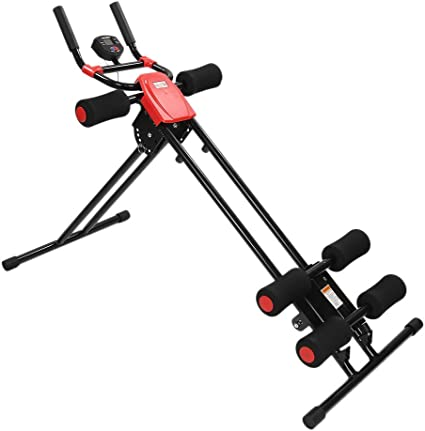 Fitness Pedal Bicicleta de Ejercicios Entrenador Rail Cruncher ...