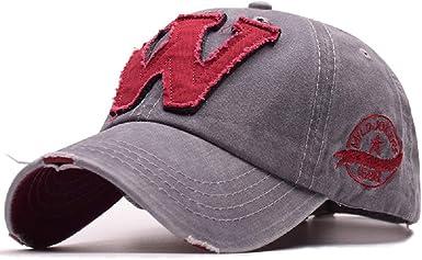 Gorras de Béisbol para Hombre Mujer Ajustable Hip Hop Casuales ...