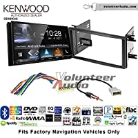 Volunteer Audio Kenwood DDX9904S Double Din Radio Install Kit with Apple CarPlay Android Auto Bluetooth Fits 2009-2013 Subaru Forester, 2008-2011 Subaru Impreza