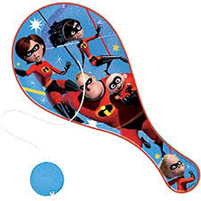 Disney Incredibles 2 Paddle Ball 2 Pack: Toys & Games