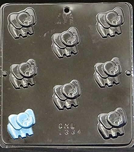 Elephant Bite Size Chocolate Candy Mold 1334