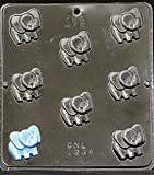 Miscellaneous Candy Molds 8 Clear Plastic
