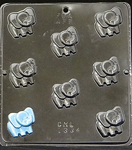 (Candy Molds N More Baby Elephant Bite Size Candy Mold 1334)