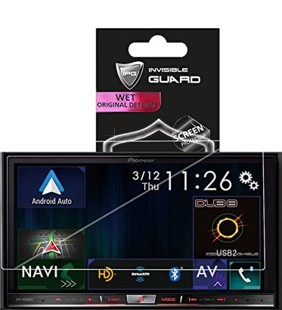 IPG for Pioneer AVIC 8200NEX CAR INDASH Player Touch Screen Radios Screen Protector Invisible Ultra HD